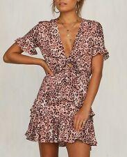 Millenia Dress - Pink Leopard