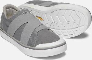 Keen Women's Elsa III Gore Slip-On Athletic Sneakers, Steel Grey - 1020482