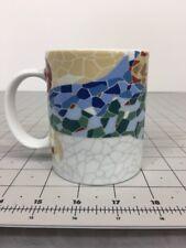 Gaudi Spain Mosaic Cup Mug Barcelona Souvenir Park Guell Coffee Tea