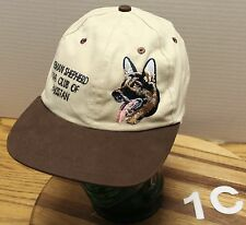 GERMAN SHEPHERD DOG CLUB OF PAKISTAN HAT BEIGE & BROWN GOOD CONDITION