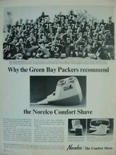 1965 Greenbay Packers Football Team Look Magazine Advertisement Page