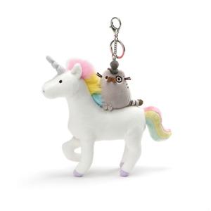 Fancy Pusheen on Unicorn Deluxe Clip 21cm
