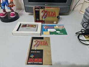 The Legend Of Zelda A Link To The Past Super Nintendo SNES Complete PAL