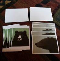 Bears by Beth Van Hoesen Art Note Cards 7 X 5 Complete Set 10 Cards & Envelopes