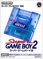 SFC SNES NINTENDO Super Game Boy 2 SHVC-SGB2 Super Famicom Nintendo