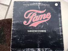 LP  FAME SARANNO FAMOSI OST COVER FAIR VINILE VG+