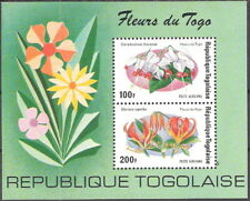 Togo 1975 Flowers of Togo Souvenir Sheet MNH (SC# C243a)