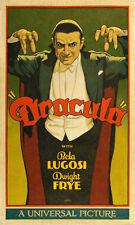 "Dracula Movie Poster Replica 11.5 x 19"" Photo Print"