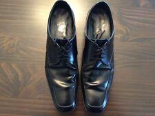 Men's PRADA Dress Shoes Black Italy Size 12