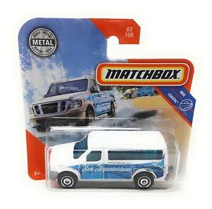 Matchbox MBX Superfast 2020 No 83 Nissan NV Van short blister card