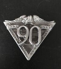 HARLEY-DAVIDSON MOTORCYCLE 90th ANNIVERSARY 1903-1993 BIKER JACKET VEST PIN