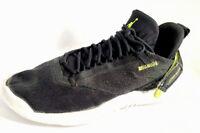 Men's Jordan jump man Sneaker Shoes Size 7 Black Green White- Worn