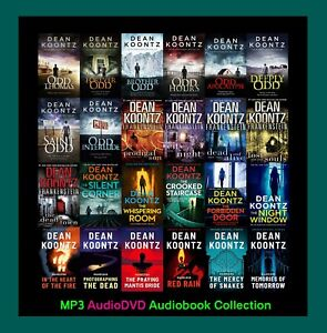 The DEAN KOONTZ Collection - 4 Series Combo ~ 25 MP3 Audiobook Collection
