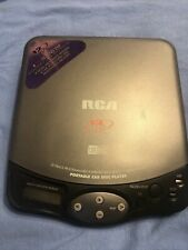 Rca Portable Car Disc Cd Compact Disc Player Rp-2010B 1997 Tested Does Come On