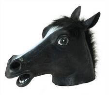 Black Beauty (Horse), Overhead Rubber Mask #AU