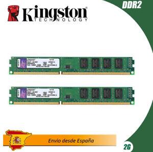 Memoria RAm Kingston 2GB (1x2GB)  800MHz DDR2 RAM Module (KVR800D2N6/2G) Usado