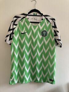 nigeria football shirt Nike Men's Large