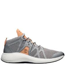 Timberland Men's FlyRoam Go Chukka Boots Shoes - Gray Full-Grain/Mesh