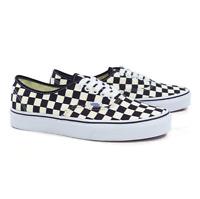 Vans AUTHENTIC Golden Coast Black/White Checkerboard Men's Shoes Size 9.5