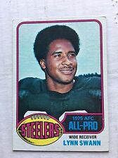Lynn Swann 1976 Topps Football Card #140 EX Condition Pittsburgh Steelers