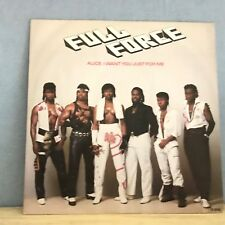 """FULL FORCE Alice, I Want You Just For Me UK 12"""" Vinyl single EXCELLENT CONDITION"""