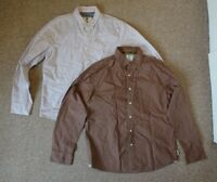 2 x Mens Fat Face Long Sleeved Smart Casual Shirts Bundle - Size Large