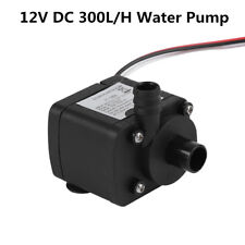 12V DC Water Cooling Pump 300L/H Ultra-quiet for PC Computer CPU Cooler System