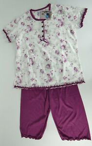 Damen Pyjama Set Nachtwäsche Lil 2085 Pijama Nachtwäsche Nachtanzug Schlafwäsche