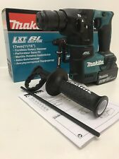 MAKITA DHR171Z 18V LXT SDS PLUS BRUSHLESS ROTARY HAMMER 17MM 1 x 4AH BL1840B