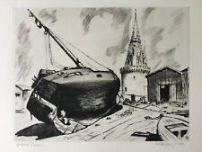 MAXIME JUAN (1900) TOUR DE LA LANTERNE, LA ROCHELLE MARINE BATEAU VOILE