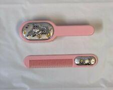 Argenti Sterling Silver Hair Brush Set