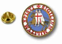 pins pin badge pin's metal drapeau templier knights templar croix de malte r2