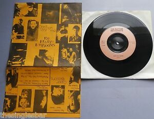"""The Rhythm Methodists - Don't Rely On Me UK 1981 Methodisques 7"""" Foldover Sleeve"""