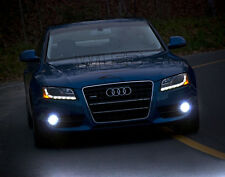 2x H11 LED CREE COB FOG LIGHT WHITE XENON 6000K CANBUS AUDI A5 2007-2011