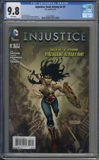Injustice Gods Among Us # 3 CGC 9.8