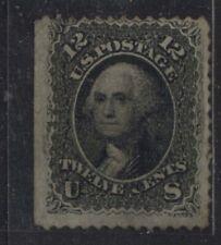 USA 1861 12 cent Washington mint hinged ( 2 scans)
