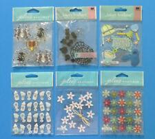 Jolees Packages of Spiders Flowers Snowflakes Baby Fun Winter Fun - You Choose