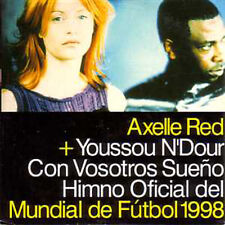 CD SINGLE Axelle RED & Youssou N'Dour Con vosotros ☆☆