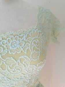 Hanky Panky Camisole Green Lace New Size Medium