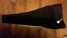 Studio 253 plus size black pull on stretch pants cropped tapered down leg 1X