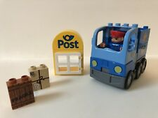 LEGO Duplo Mailman Truck Post Office Delivery Mailbox Set