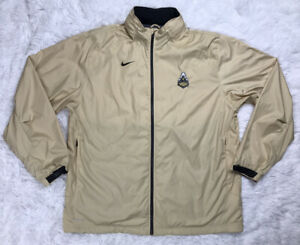 Nike Storm-Fit Purdue Boilermakers Basketball Mens Jacket Size XL EUC Zip Hood