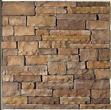 Stone Veneer Cultured Brown Cliff Face FREE SHIPPING Call Today For More Details