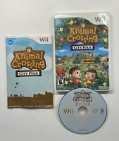 Nintendo Wii Animal Crossing City Folk Complete