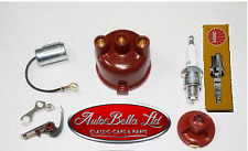 CLASSIC FIAT 500 IGNITION KIT SET CONDENSER POINTS ROTOR DISTRIBUTOR CAP SPARK