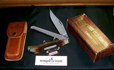 "Schrade 225OT Knife ""Son of a Gun"" W/Sheath 1990-92 & Original Packaging,Papers"