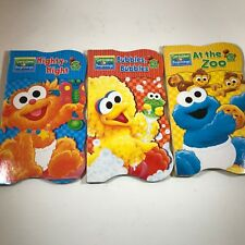 Lot of 3 Sesame Street Beginnings Board Books - Children's Books