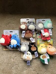Lot of Squishmallow Pet Collection Dog Toys New