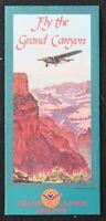 Brochure touristique FLY THE GRAND CANYON avion plane USA dépliant Tourisme