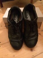 Camper Pelotas Ariel Black leather shoes  very worn condition  Size UK 9 EU 43